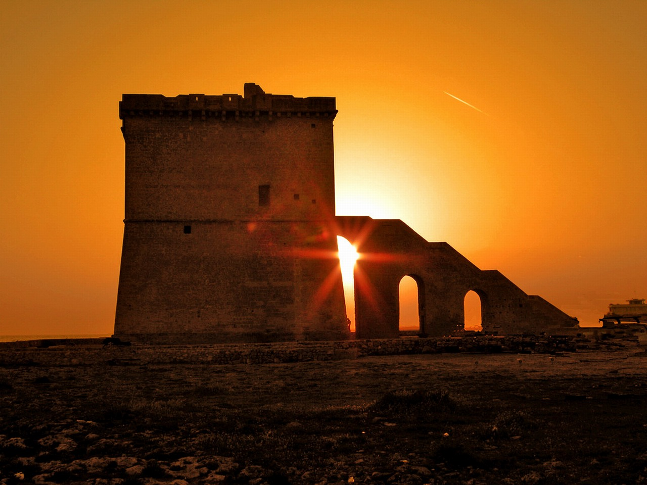 Torre Lapillo Italy  City pictures : Torre Lapillo sunset